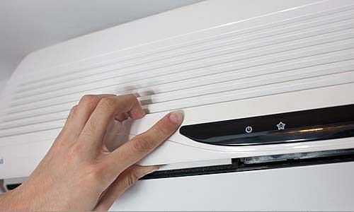Fechamento painel - Como limpar o seu Ar Condicionado Split - WebContinental