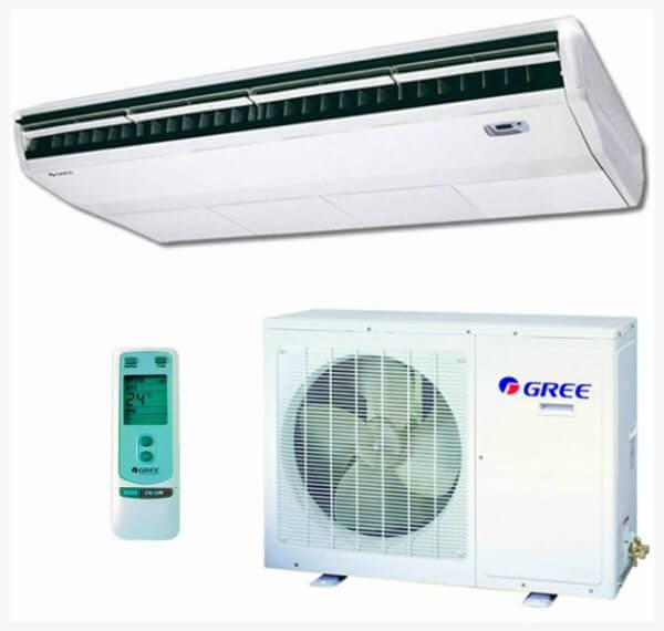 Ar Condicionado Split Piso Teto Gree 24000 BTUs Quente-Frio 220V Monofasico