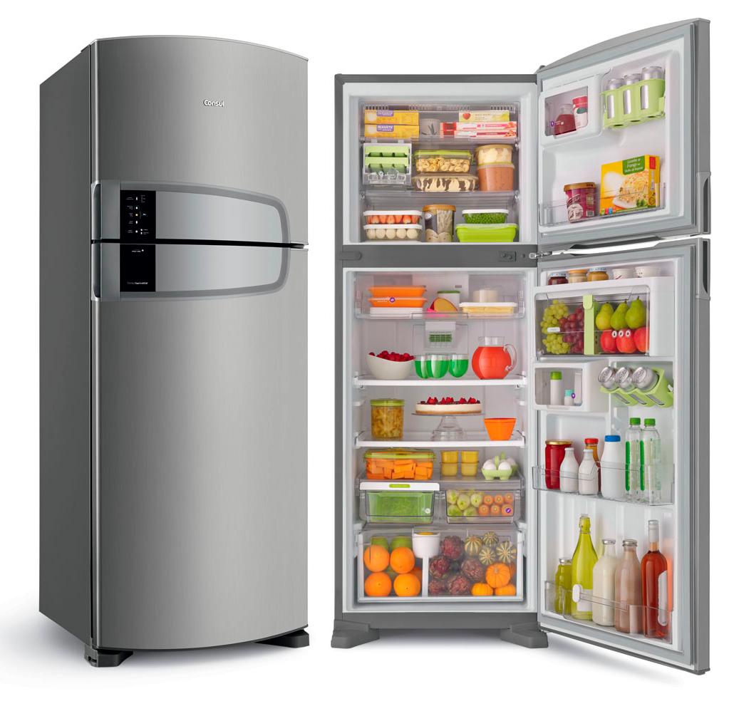Refrigerador Consul Bem Estar com Horta em Casa Frost Free Evox Platinum 437L - Blog WebContinental