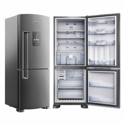 Geladeira Brastemp Duplex Inverse – Frost Free – Platinum – 422L