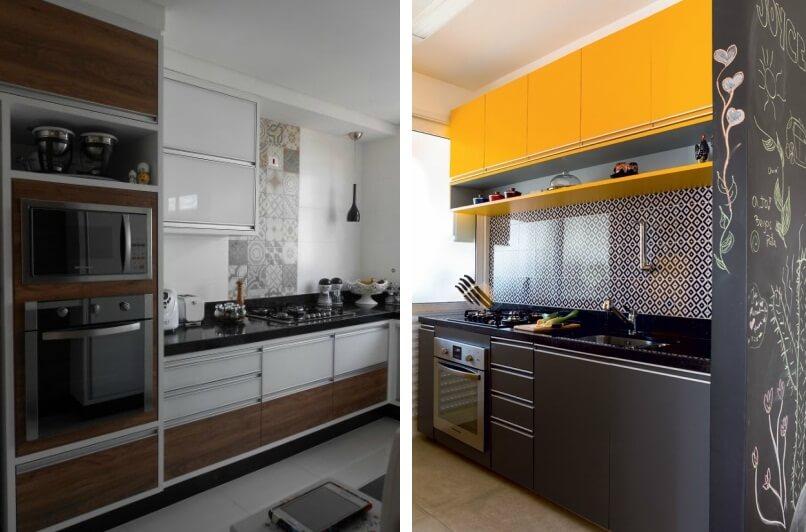 Cozinha com Forno de Embutir