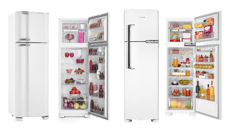Geladerias Defrost e Frost Free