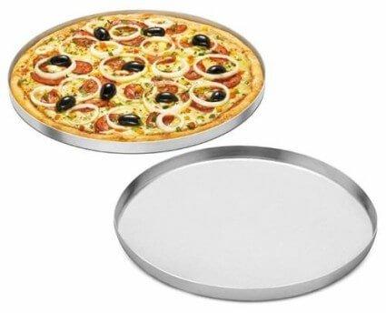 Forma de Pizza em Alumínio