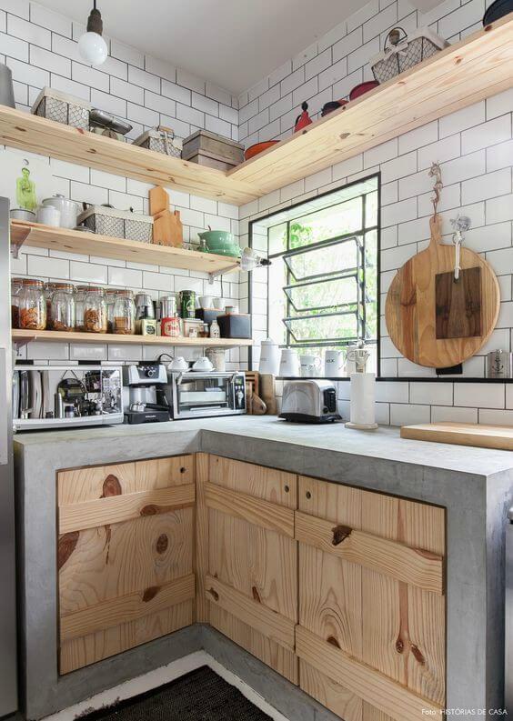 Cozinha com moveis planejados