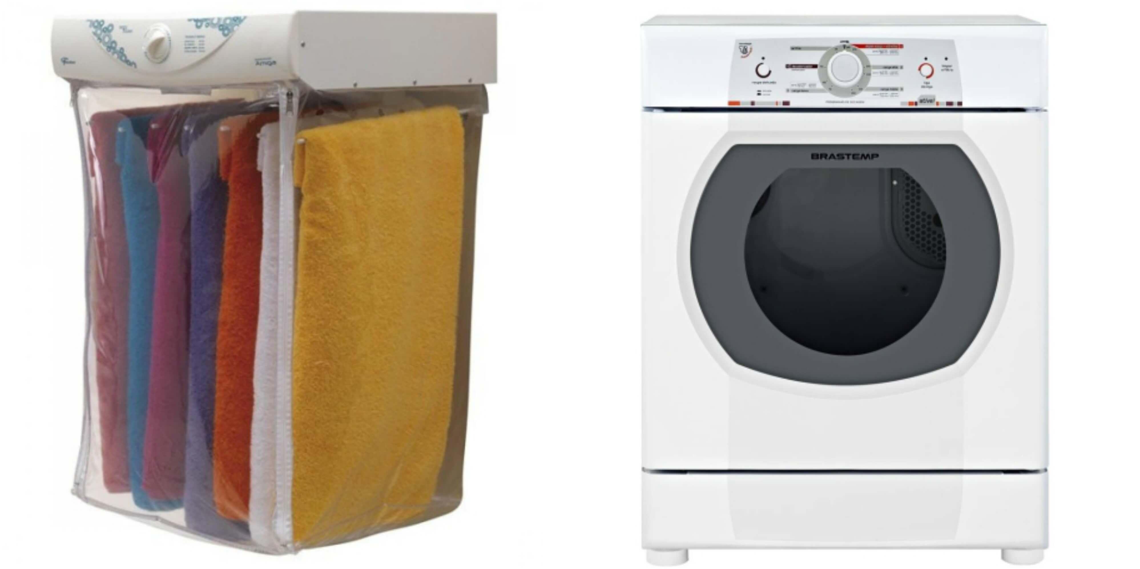 Imagens de secadora de parede e de chão