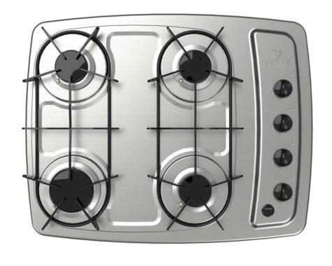 Imagem com 4 bocas de fogão
