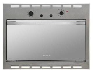 forno elétrico de embutir a gás Cristallo Inox