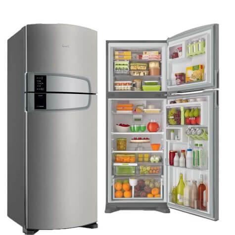 Refrigerador Consul Duplex - Frost Free Evox Platinum