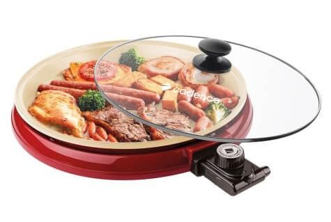 Multi Grill Cadence Ceramic Pan 220V GRL350