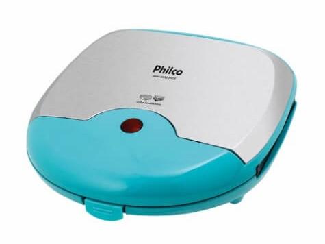 Grill Mini Philco Inox Verde 110V