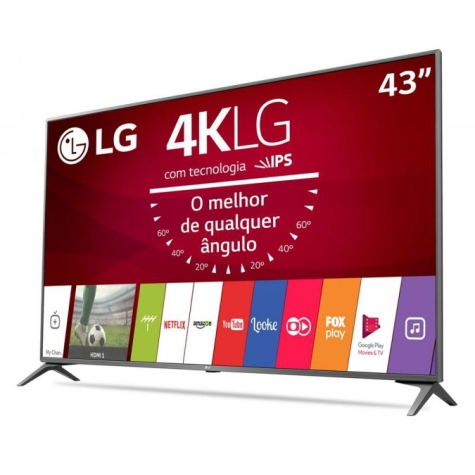 Tv 43 Polegadas - LED Ultra HD 4K